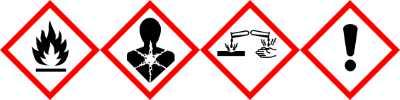 JBL Testlap ProScape Gefahrensymbole