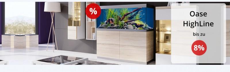 Oase HighLine Aquarium im Wohnzimmer