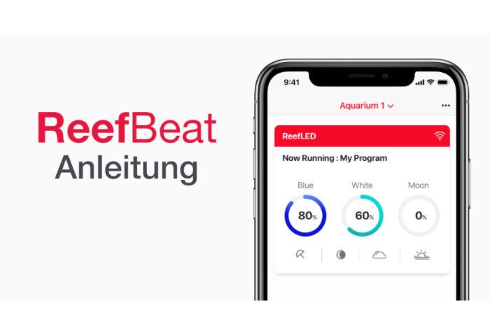 Reef LED 90 reef beat App Anleitung