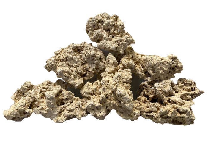 D-D Aquascape Rock Mixed Beispielaufbau mit 10 kg Riffgestein