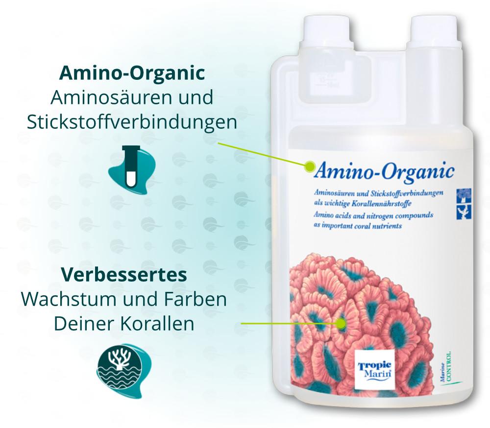 Dieses Bild zeigt die Vorteile von Tropic Tropic Marin Amino-Organic