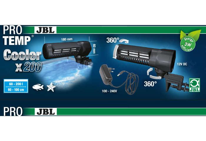 JBL ProTemp Cooler x200 Aquarium Lüfter Produktinformation