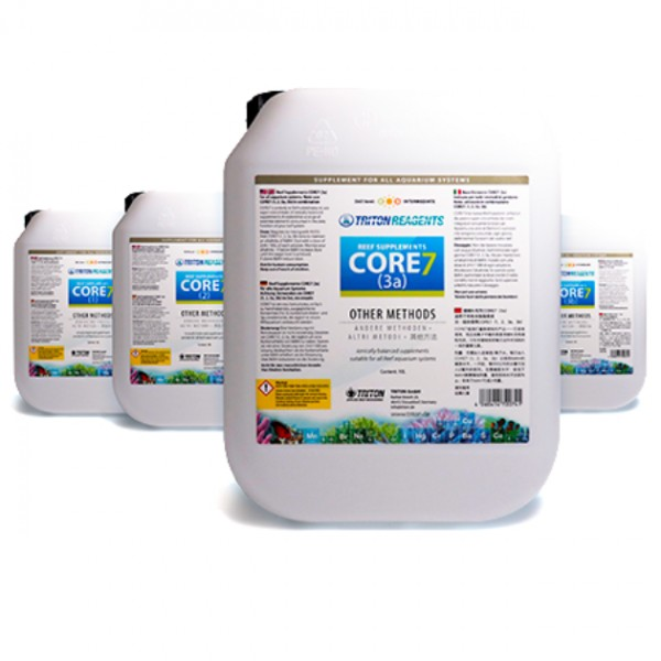 Triton CORE7 Reef Supplements 4x5l Set