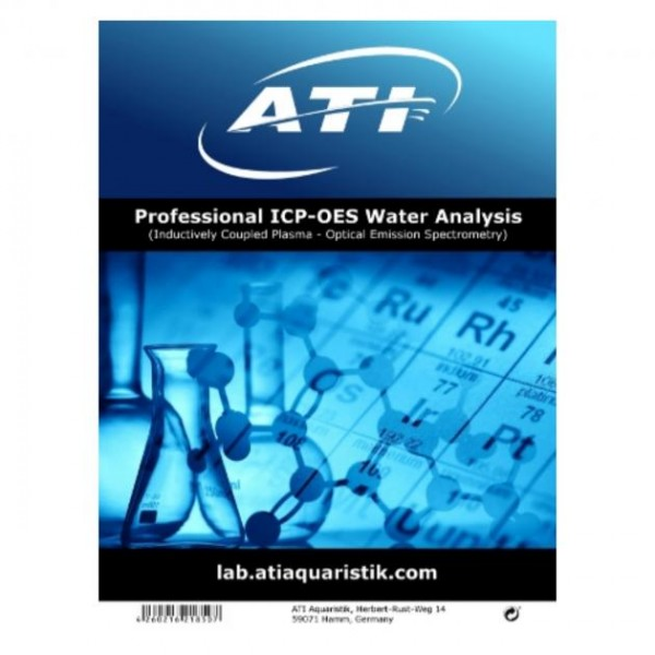 ATI ICP-OES Wasseranalyse 3er Set