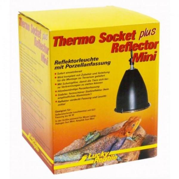 Lucky Reptile Thermo Socket + Reflector mini (schwarz)