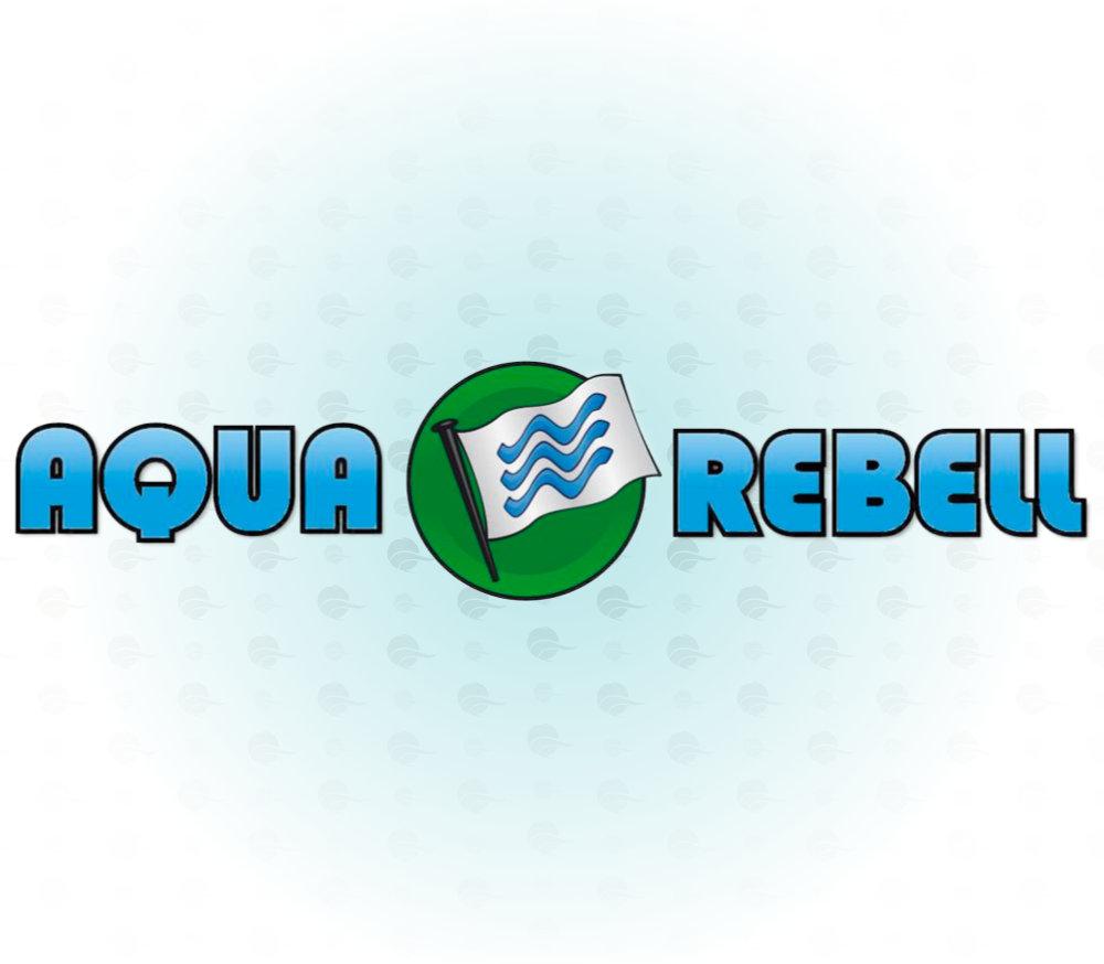Dieses Bild zeigt das Aqua Rebell Logo