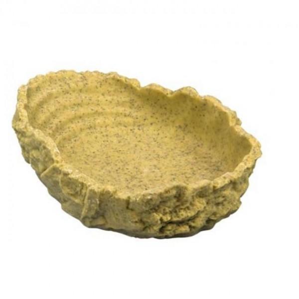 Hobby Trinkschale L (ocker, 550 ml, 20 x 16 x 5 cm)