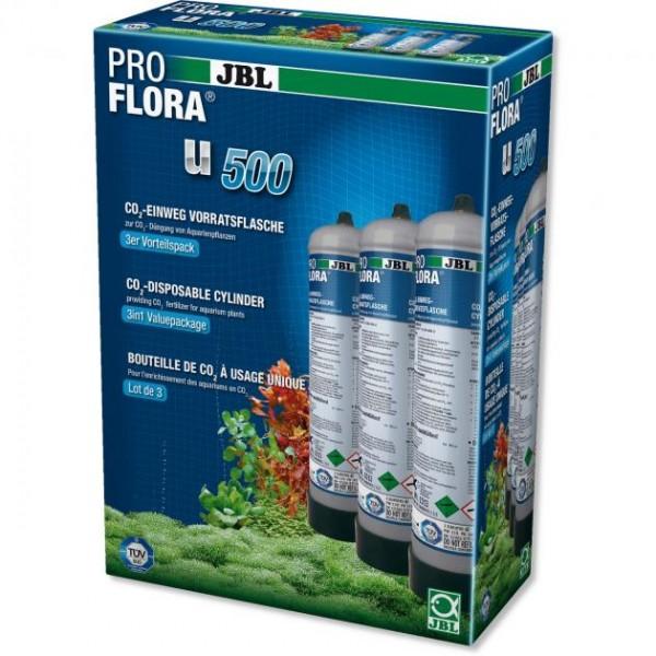 JBL ProFlora 3 x u500 CO2-Einweg-Vorratsflasche