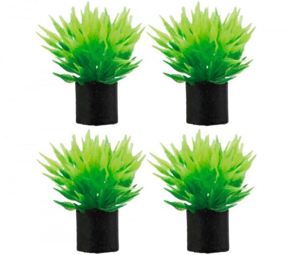 Hobby Utricularia 4x mini Aquarium Kunstpflanzen