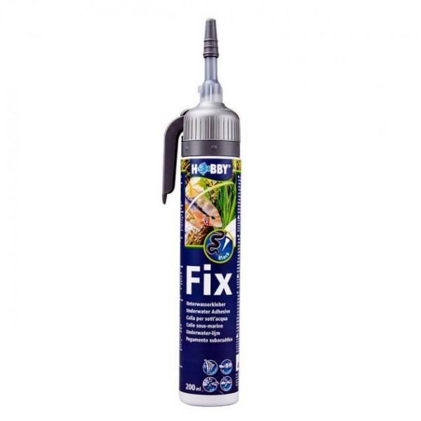 Fix Unterwasserkleber schwarz, Kartusche, 200 ml